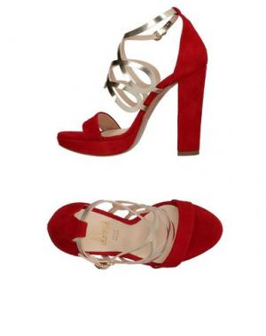 Сандалии LE STELLE. Цвет: красный