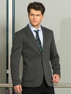 Пиджак Donatto. Цвет: серый