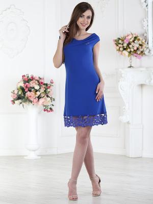 Платье женское AnGela. Цвет: синий
