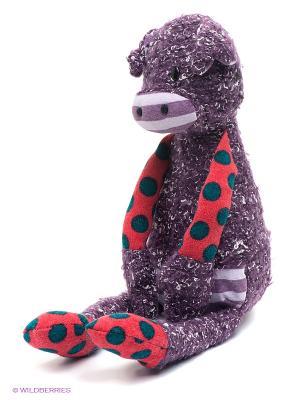 Мягкая игрушка Cвинка 1Toy. Цвет: фиолетовый, красный