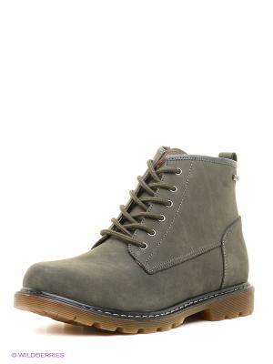 Ботинки Shoiberg. Цвет: серый, бронзовый