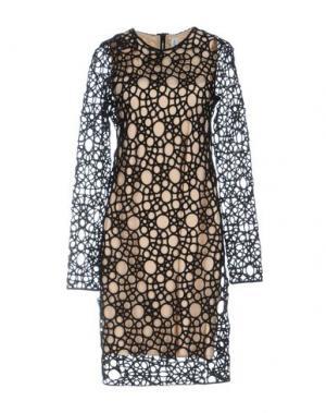 Платье до колена KAUFMANFRANCO. Цвет: черный