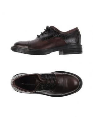 Обувь на шнурках ALTO GRADIMENTO. Цвет: темно-коричневый