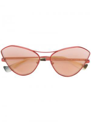 Cat eye sunglasses Grey Ant. Цвет: красный