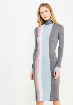 Платье Pinko. Цвет: серый