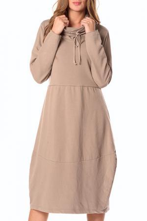 Платье LA BELLE PARISIENNE. Цвет: бежевый