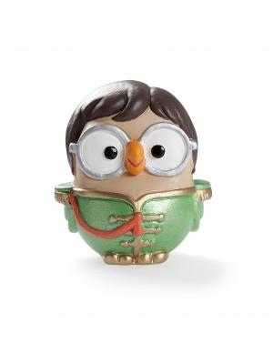 Керамическая статуэтка сова Джон Леннон Goofi. Цвет: зеленый