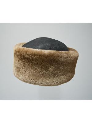 Шапка Bos Bison. Цвет: коричневый