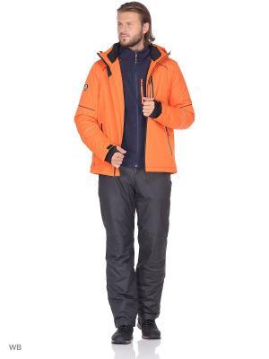 Куртка High Experience. Цвет: оранжевый