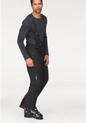 Горнолыжные брюки POLARINO. Цвет: черный