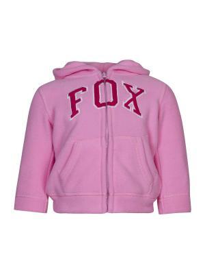 Толстовка детская унисекс FOX. Цвет: розовый