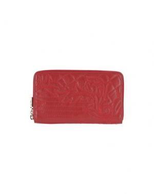 Бумажник GIANNI VERSACE. Цвет: красный