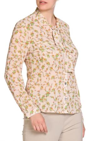 Блуза LOLA PALTINGER. Цвет: оранжевый