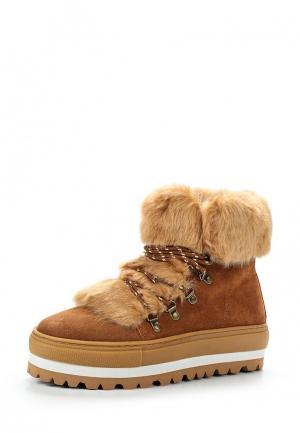 Ботинки Sixtyseven. Цвет: коричневый