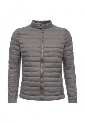 Куртка утепленная R-Recycled. Цвет: серый
