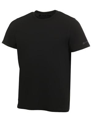 Футболка Alpine PRO. Цвет: черный