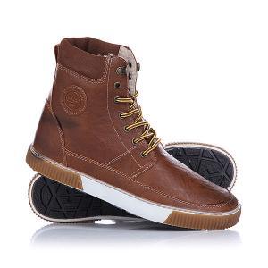 Кеды кроссовки утепленные  Davos Toffee Hi-Tec. Цвет: коричневый