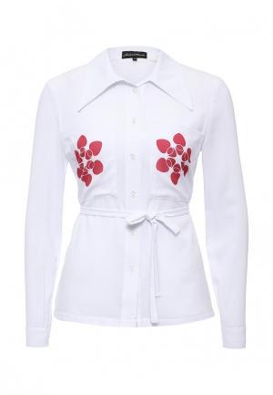 Блуза Disash. Цвет: белый