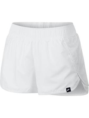 Шорты W NSW SHORT SWSH MSH Nike. Цвет: белый