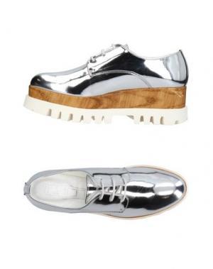 Обувь на шнурках CULT. Цвет: серебристый