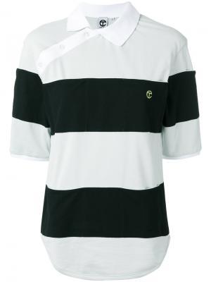 Рубашка-поло Simplex Telfar. Цвет: синий