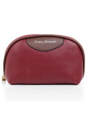 Косметичка Fiato Dream. Цвет: бордовый, красный