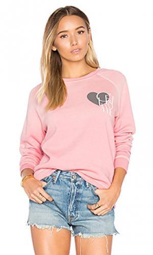 Пуловер cest la vie Junk Food. Цвет: rose