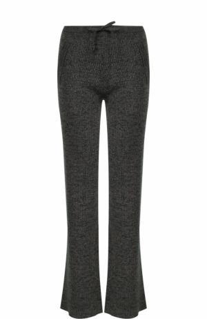 Расклешенные вязаные брюки Paul&Joe. Цвет: хаки