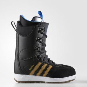 Сноубордические ботинки Samba ADV  Originals adidas. Цвет: черный
