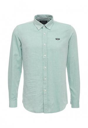 Рубашка Galvanni. Цвет: зеленый