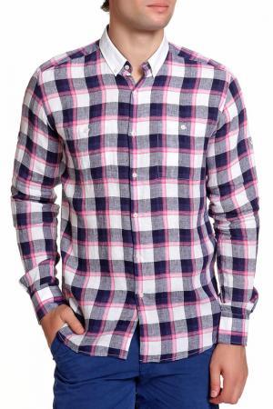 Рубашка Karl Lagerfeld. Цвет: клетка