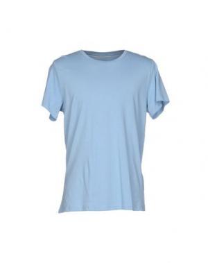 Футболка SUIT. Цвет: небесно-голубой