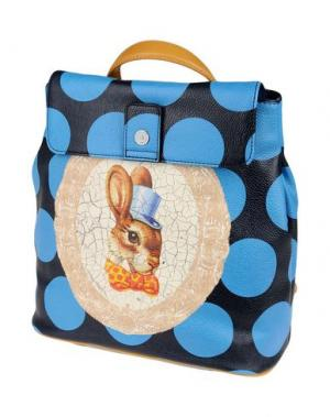 Рюкзаки и сумки на пояс VIVIENNE WESTWOOD ANGLOMANIA. Цвет: лазурный