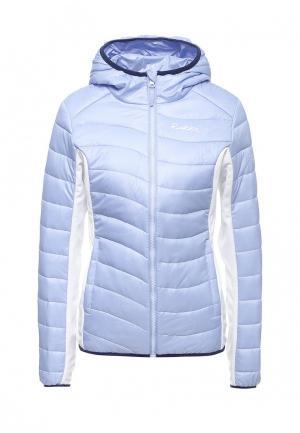 Куртка утепленная Rukka. Цвет: голубой