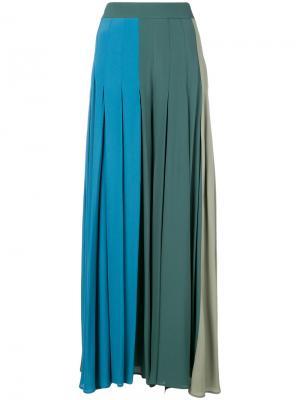 Расклешенная юбка макси  Erika Cavallini P7AT7012378451