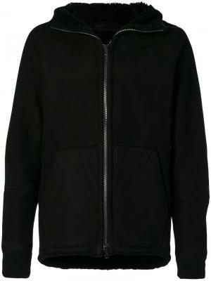 Куртка на молнии Salvatore Santoro. Цвет: чёрный