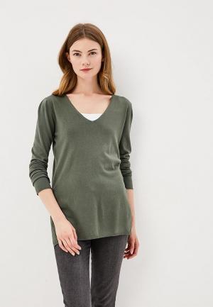 Пуловер Bluoltre. Цвет: зеленый