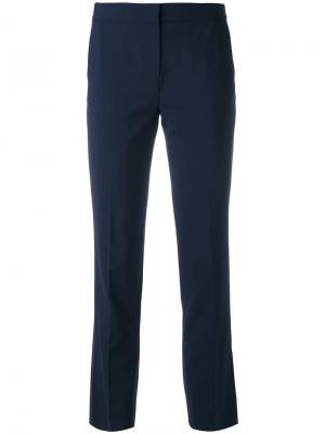 Классические укороченные брюки Dvf Diane Von Furstenberg. Цвет: синий