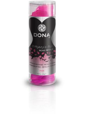 Декоративные лепестки DONA Rose Petals Pink розовые SYSTEM JO. Цвет: розовый