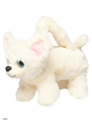 Сумочка Щенок бел. Fluffy Family. Цвет: белый, розовый