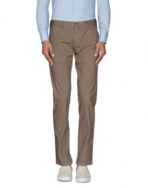 Повседневные брюки EREDI RIDELLI. Цвет: хаки