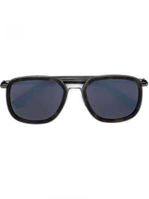 Солнцезащитные очки 1198 Cutler & Gross. Цвет: чёрный