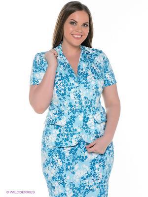 Жакет Finn Flare. Цвет: голубой