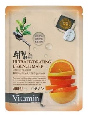 Комплект увлажняющих масок с витаминами, 25 мл.*3 шт. Shelim. Цвет: белый