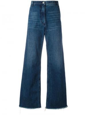 Удлиненные джинсы Bishop Rachel Comey. Цвет: синий