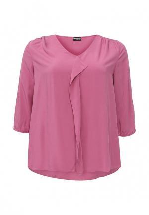 Блуза Samoon by Gerry Weber. Цвет: розовый