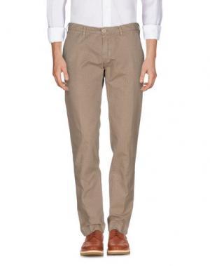 Повседневные брюки PERFECTION. Цвет: хаки