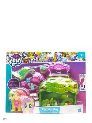 Мини игровой набор Пони Мейнхеттен(в ассорт.) My Little Pony. Цвет: желтый, зеленый, фиолетовый