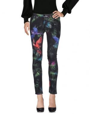 Повседневные брюки REIKO. Цвет: темно-зеленый