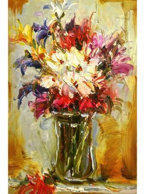 Картина - репродукция Краски осени Magic Home. Цвет: коричневый,розовый,белый